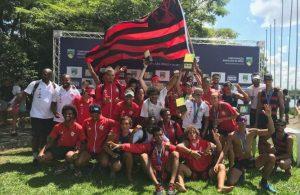 Flamengo é campeão do Campeonato Brasileiro de Barcos Curtos