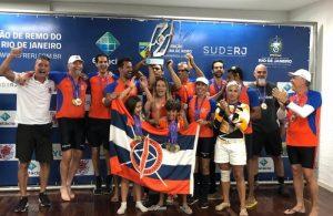 Rio de Janeiro vence 13 provas e é bicampeão da Copa Rio de Remo Master